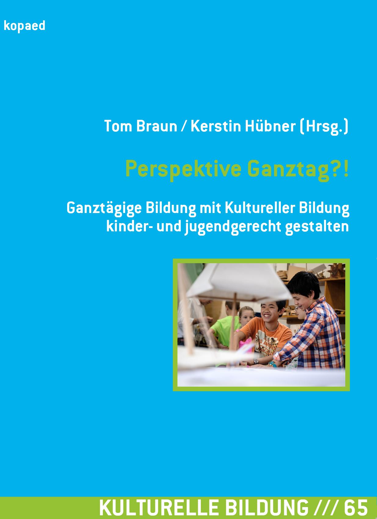 """Titelbild des kopaed-Bands """"Perpektive Ganztag?!"""""""