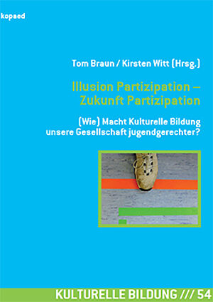 "Titelbild des kopaed-Bands ""Illusion Partizipation"""